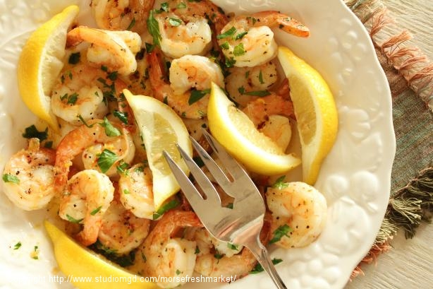4 Minute Spicy Garlic Shrimp